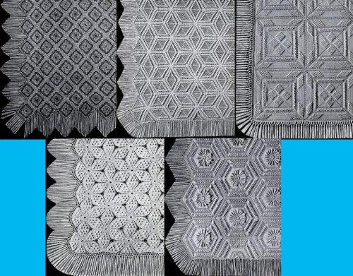 Beautiful Heirloom Crocheted Bedspread Patterns - Heirloom Crocheted