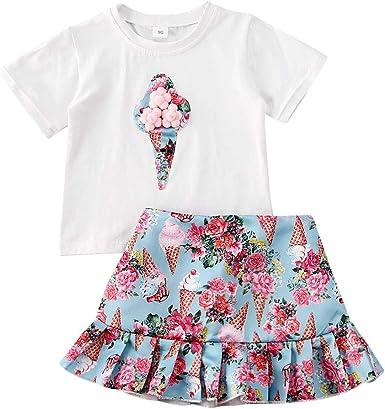 Floral T-Skirt Skirt