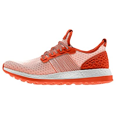 adidas Men s Pureboost ZG M Running Shoe Collegiate Orange Light Grey 18f104aa69
