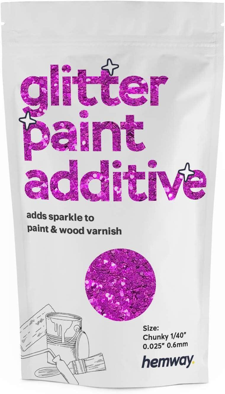 Hemway Glitter Paint Additive Chunky 1/40