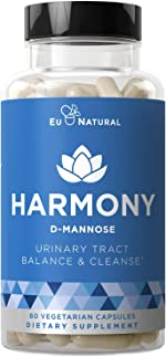 Harmony D-Mannose – Urinary Tract UT Cleanse & Bladder Health –