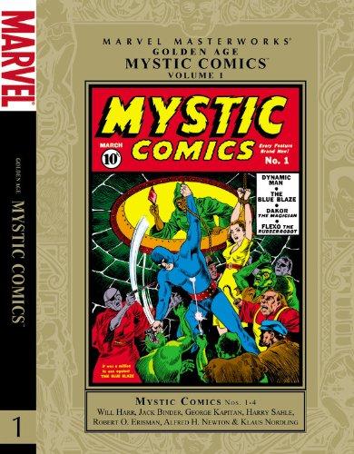 Marvel Masterworks Golden Age Mystic Comics 1