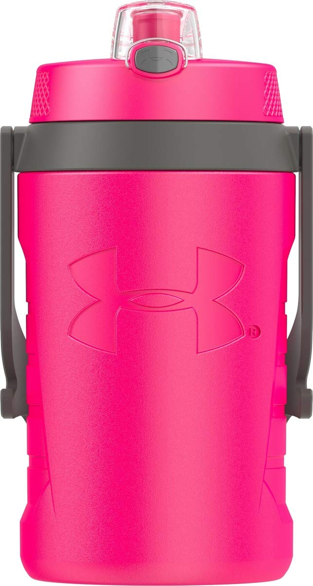 Under Armour Sideline 64 Ounce Water Jug, Rebel Pink by Thermos
