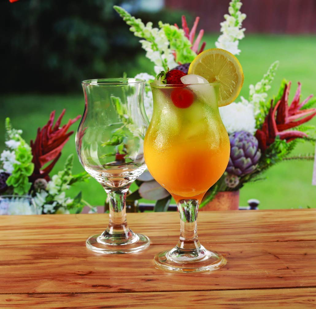 Wine Glasses, Water Goblets, These Set of 12 - 13.75 oz. Bud-Shaped Glasses are Perfect for Serving up Wine, Cocktails, Beer, Water, Ice Tea or Desserts(12)