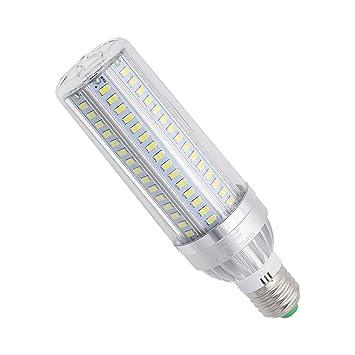 GGSSYY-JNDP 2pcs Potencia Real 35W 3700Lm E27 Bombilla Led Ventilador De Aluminio Enfriamiento Sin Parpadeo SMD 5730 Lámpara de Luz de Maíz AC 85V-265V para ...