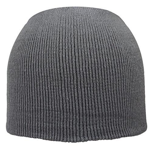 basic da grigio uomo Cappello in wc8Yqx1Cpp