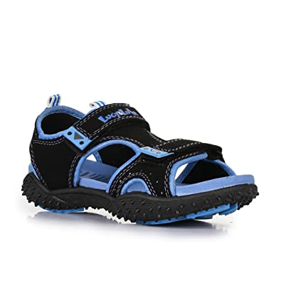 41da3ea3f Lucy   Luke (From Liberty) Boy s Polo T.Blue Sandals-9 Kids UK India (27  EU) (8074058156270)  Buy Online at Low Prices in India - Amazon.in