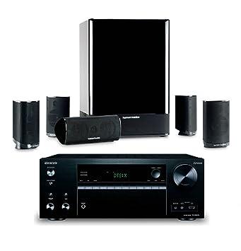 Amazon.com: Harman Kardon HKTS 15 5.1-channel Home Theatre Speaker ...