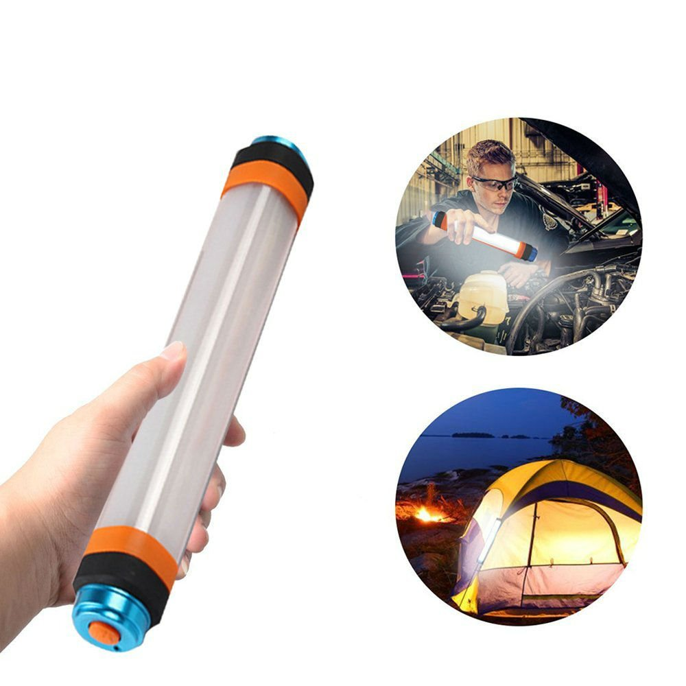 Hangang Camping Laterne, USB aufladbare LED Zelt Lichter, wasserdicht Camp Laternen, multifunktionalen Bright Lampe & Taschenlampe, Notfall Stroboskop [Camping Gear] Hand