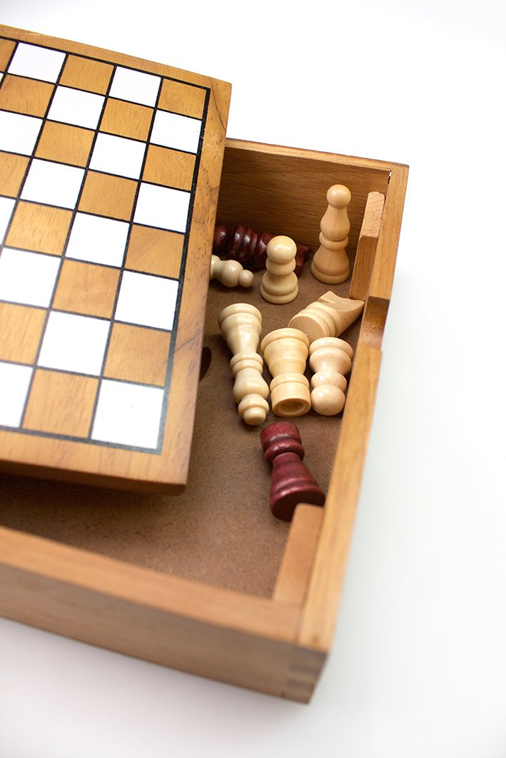 Classic Chess - Wood Tactic Games UK 14024 Family Games Games_and_Puzzles