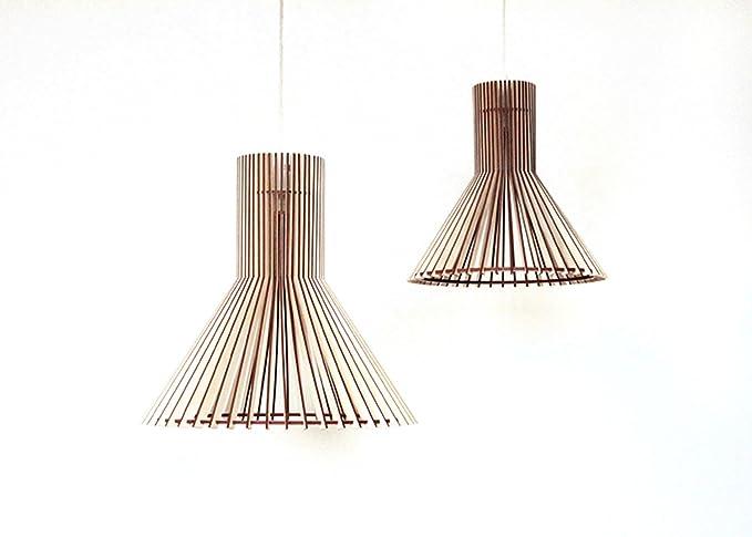 Moderna lámpara de techo de madera/Classic Eko madera ...