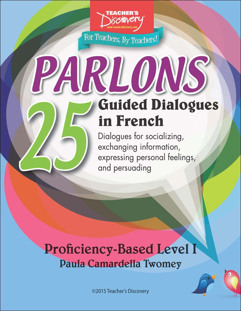 Parlons French Binder
