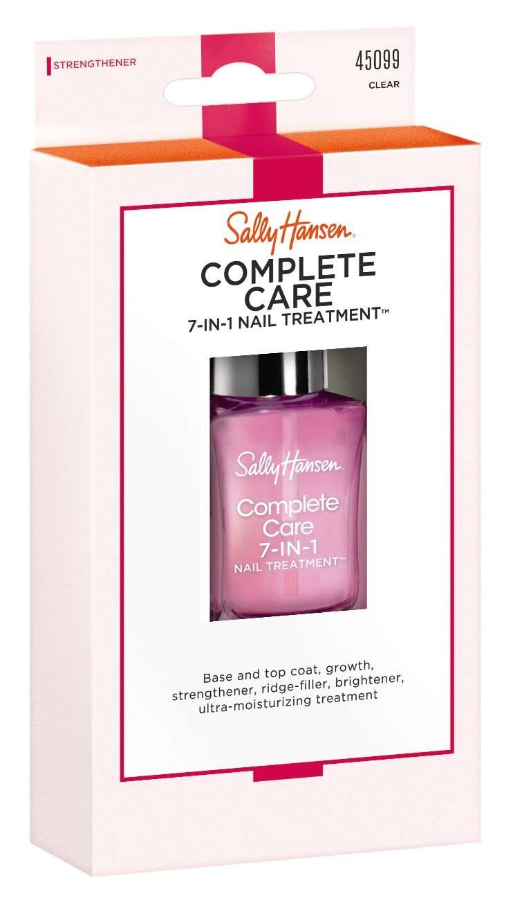 Sally Hansen Complete Care 7-N-1 Nail Treatment Clear 0.45 Ounce (13.3ml) (2 Pack)