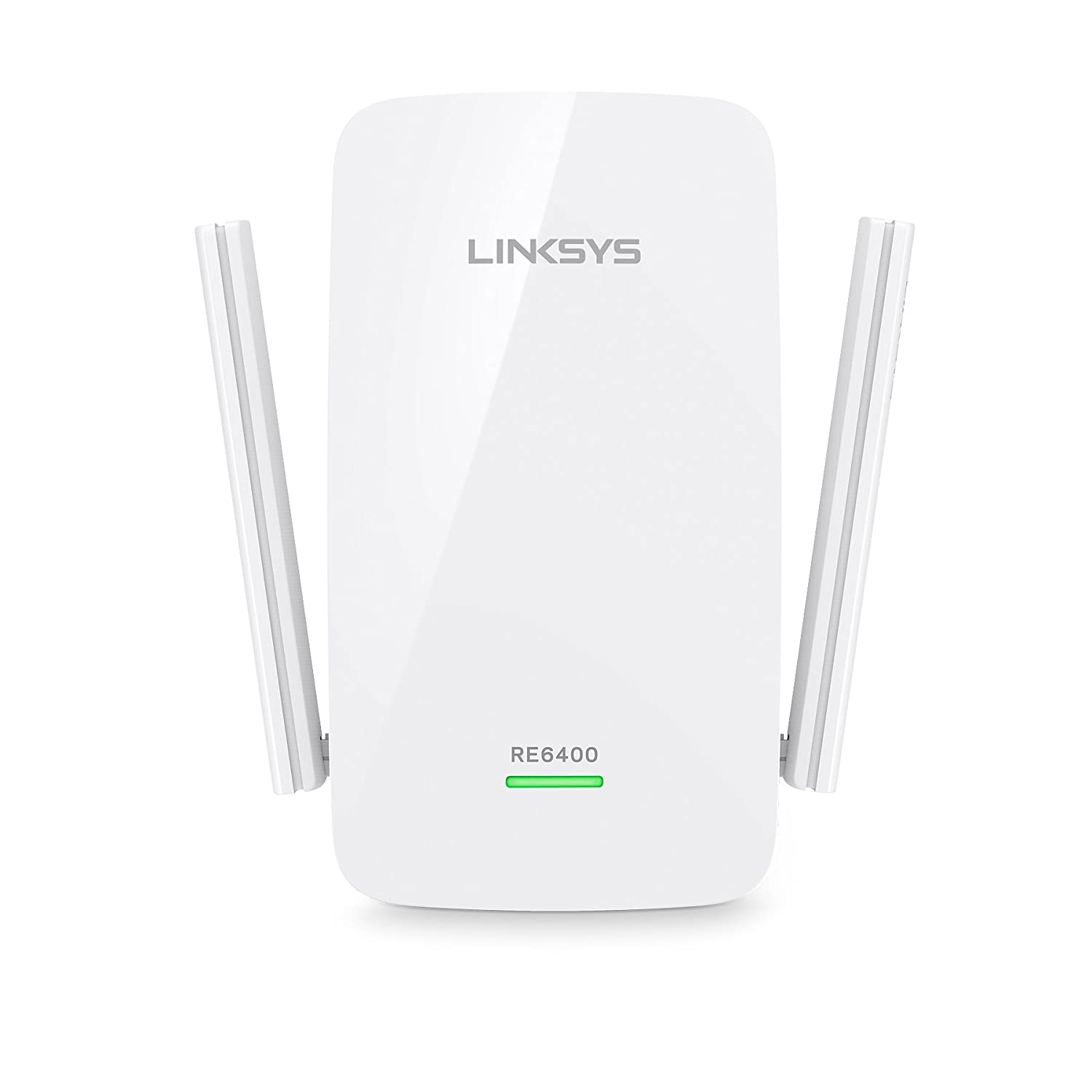 Linksys RE6400-EU - Extensor de Red Wi-Fi AC1200 Boost EX (N300 + AC867 Mbps, Spot Finder, Doble Banda, Cross-Band, Beamforming, 1 Puerto Gigabit Ethernet), ...