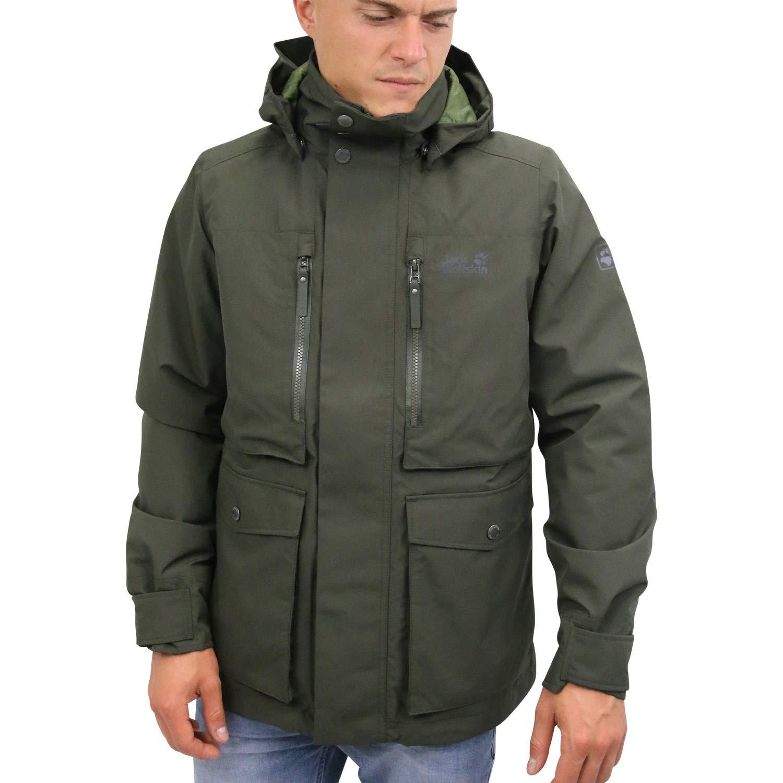 Jack Wolfskin Bridgeport Bay Jacket Herren Black 2019 Funktionsjacke