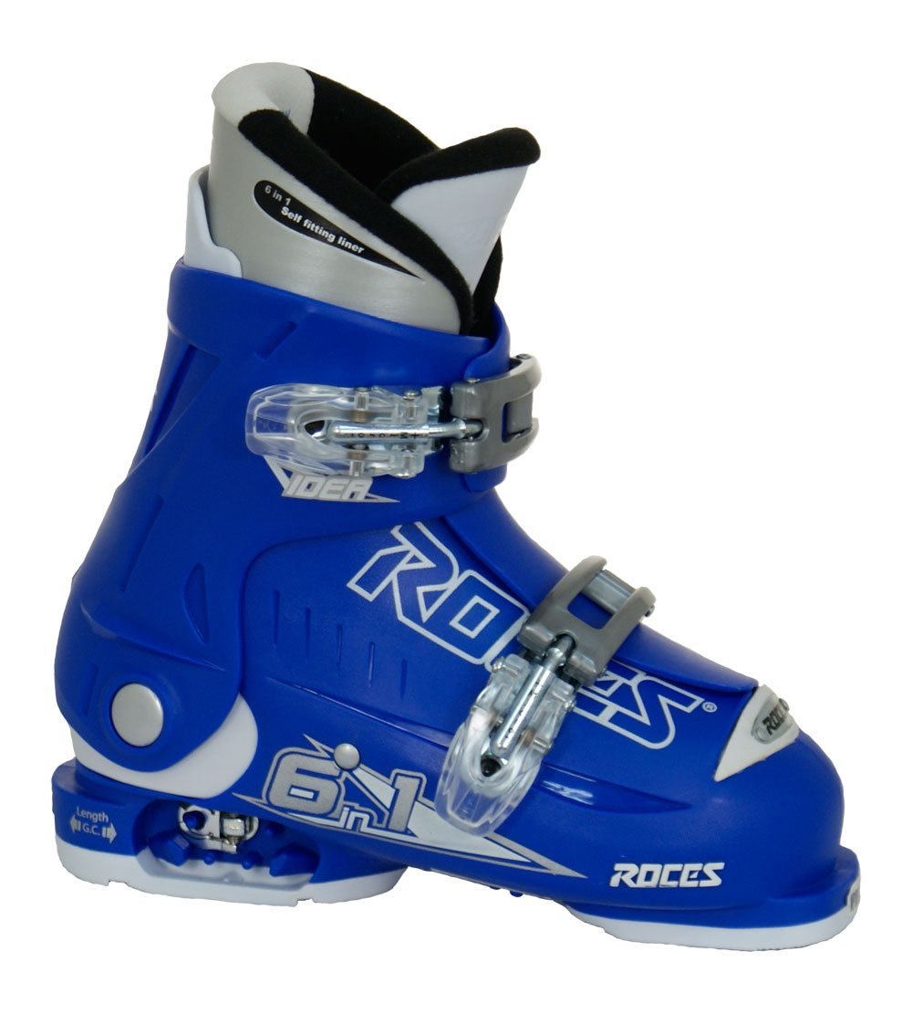 Roces 2012 Adjustable Blue Children's Ski Boots 16.0-18.5