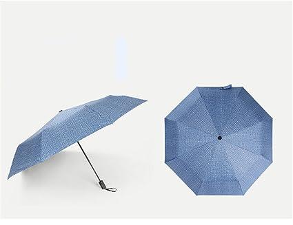GSXCE paraguas completo de la fibe, paraguas plegable automático, paraguas largo mango grande,