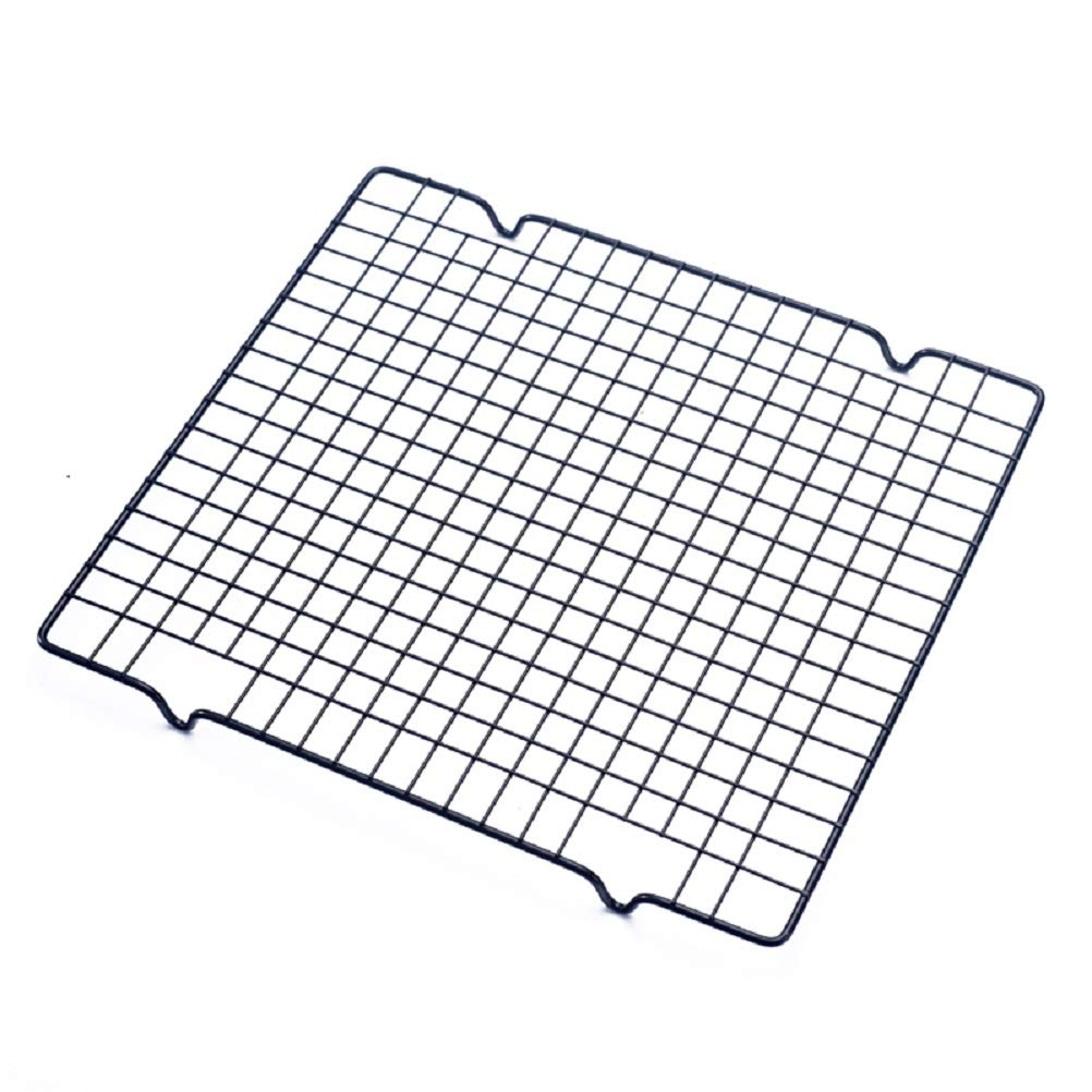 40 x 25 cm /& 28 x 25 cm Black Lawei 4 Pack Cooling Racks Set Baking Racks