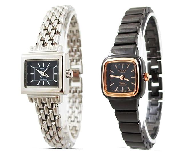 2 x caros para mujer venta relojes - - relojes para mujer de color negro y