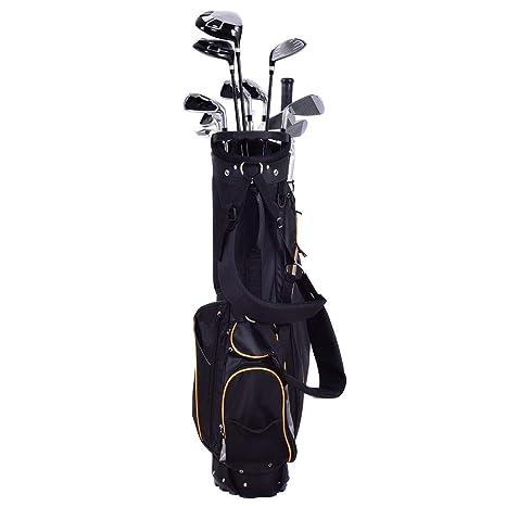 COSTWAY Bolsa de Golf Hombre de Viaje Profesional 9 Pulgadas ...