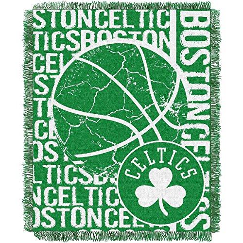 THE NORTHWEST COMPANY BOSTON CELTICS DOUBLE PLAY WOVEN JACQUARD THROW (Northwest Chicago Bulls Acrylic)