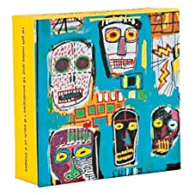 Jean-Michel Basquiat Mini FlipTop Notecards with Magnetic Closure, greeting cards for all occasions