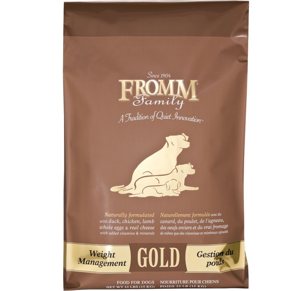 Fromm Gold Dog Food Weight Management 33 Lb