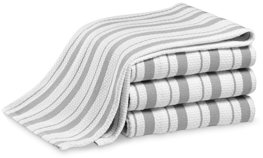 Williams-Sonoma Classic Striped Towels, Set of 4, Drizzle | Williams-Sonoma