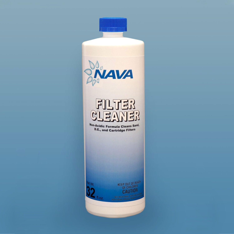 Nava Chemicals 652139022 32-Ounce Filter Cleaner, 1-Quart Bottle