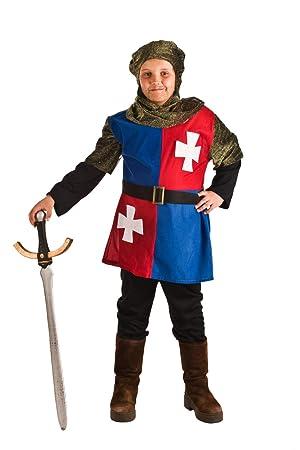 Disfraz Medieval Cuartelado para niño G-(9/11A): Amazon.es ...