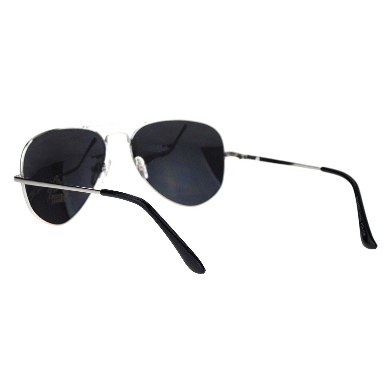 Classic Aviator Sunglasses Thin Metal Frame Mirror Lens Aviators UV 400