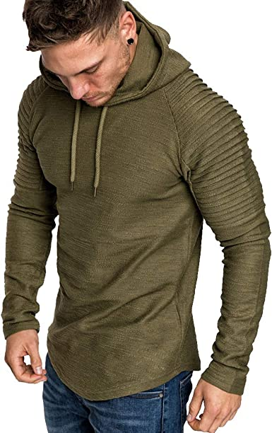 sweat a capuche homme uni