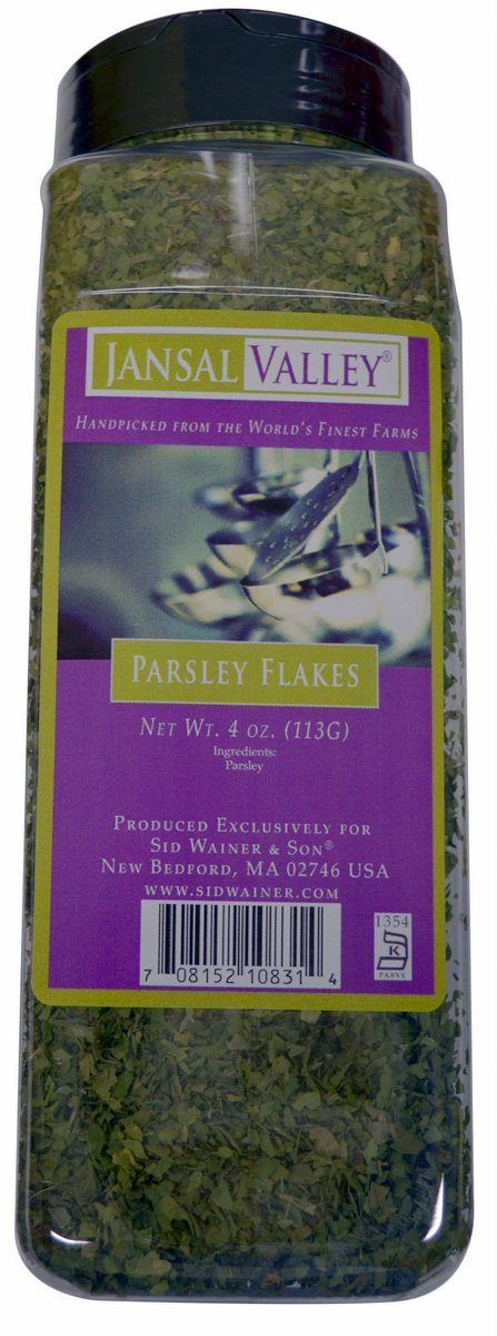 Jansal Valley Parsley Flakes, 4 Ounce