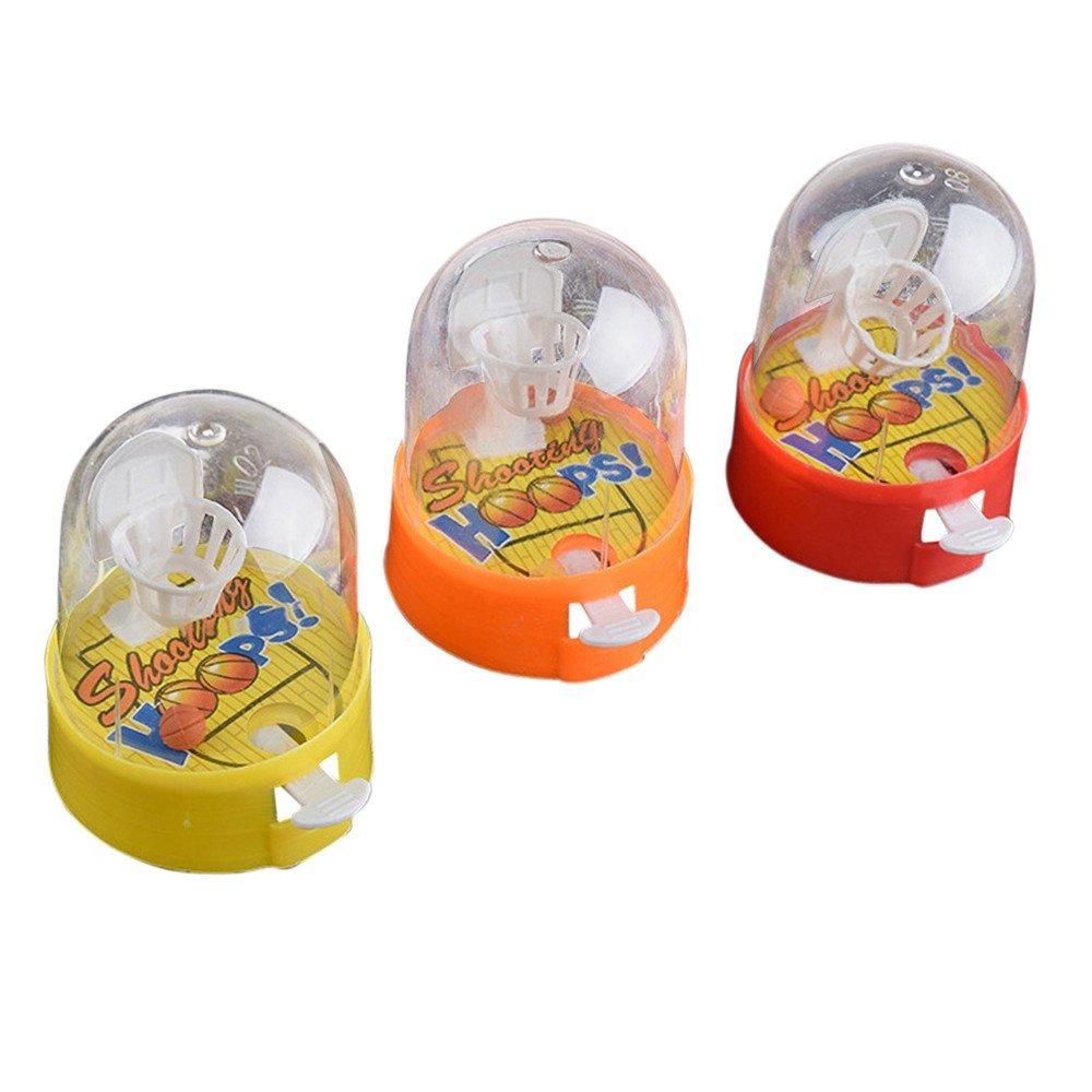 Flurries Developmental Basketball Machine Anti-Stress Player Handheld Children Toys Gift (As Show)