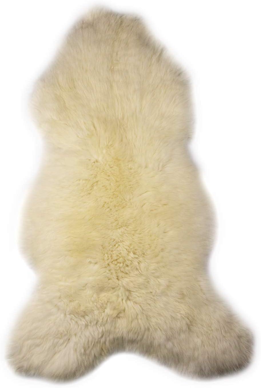 Zerimar 天然ラムスキンエリアラグ サイズ:4フィート08インチ×2フィート58フィート ベビー用シープスキンラグ ラムスキンベビーラグ シープスキンラグ 純正 本物のシープスキンラグ シープスキンラグ シープスキンラグ