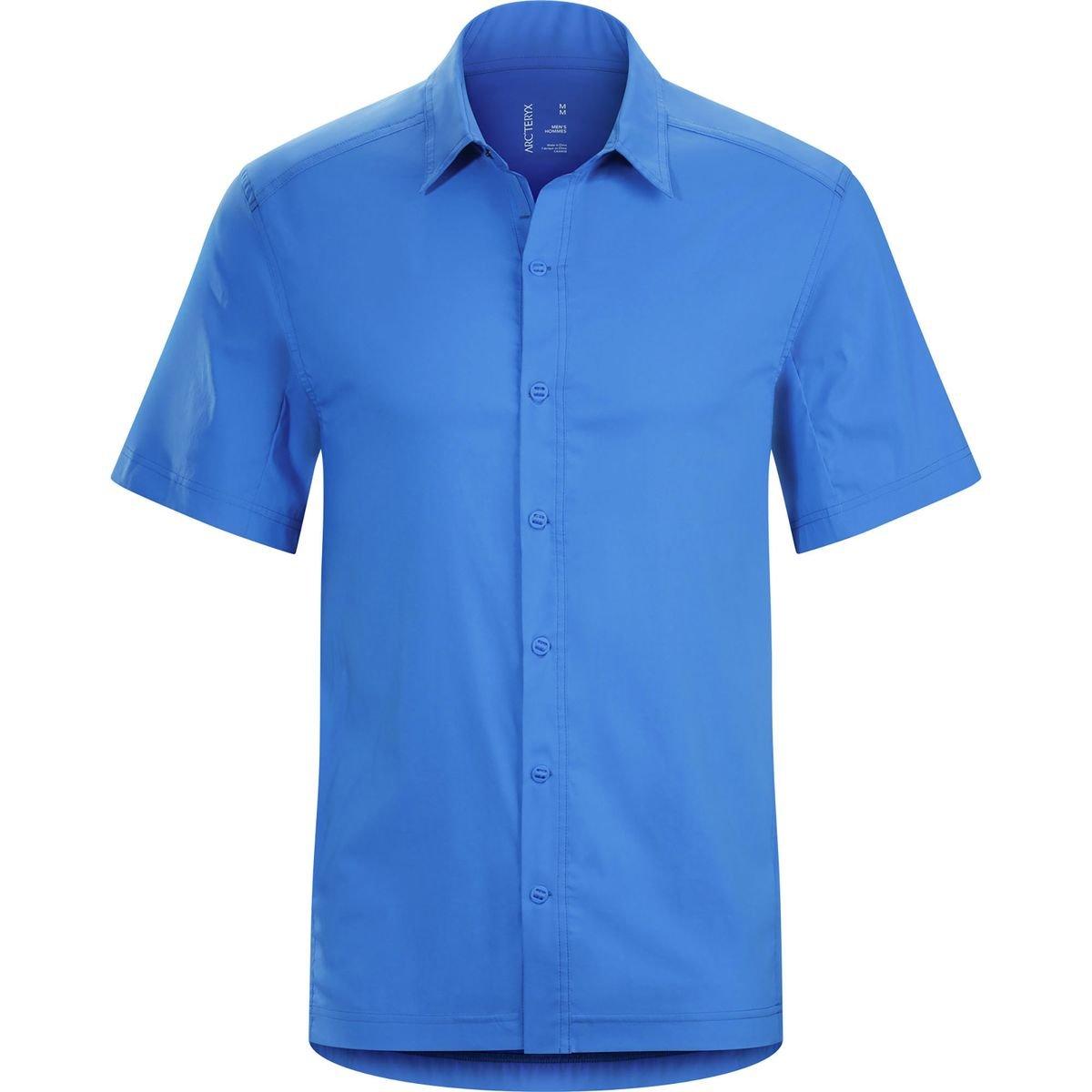 Amazon Arcteryx Transept Ss Shirt Mens Deja Blue Small