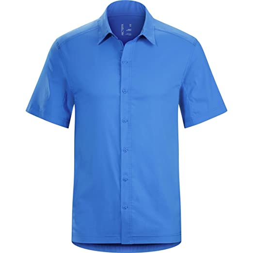 70951cb68 Amazon.com  Arcteryx Transept SS Shirt - Men s Deja Blue Small  Clothing