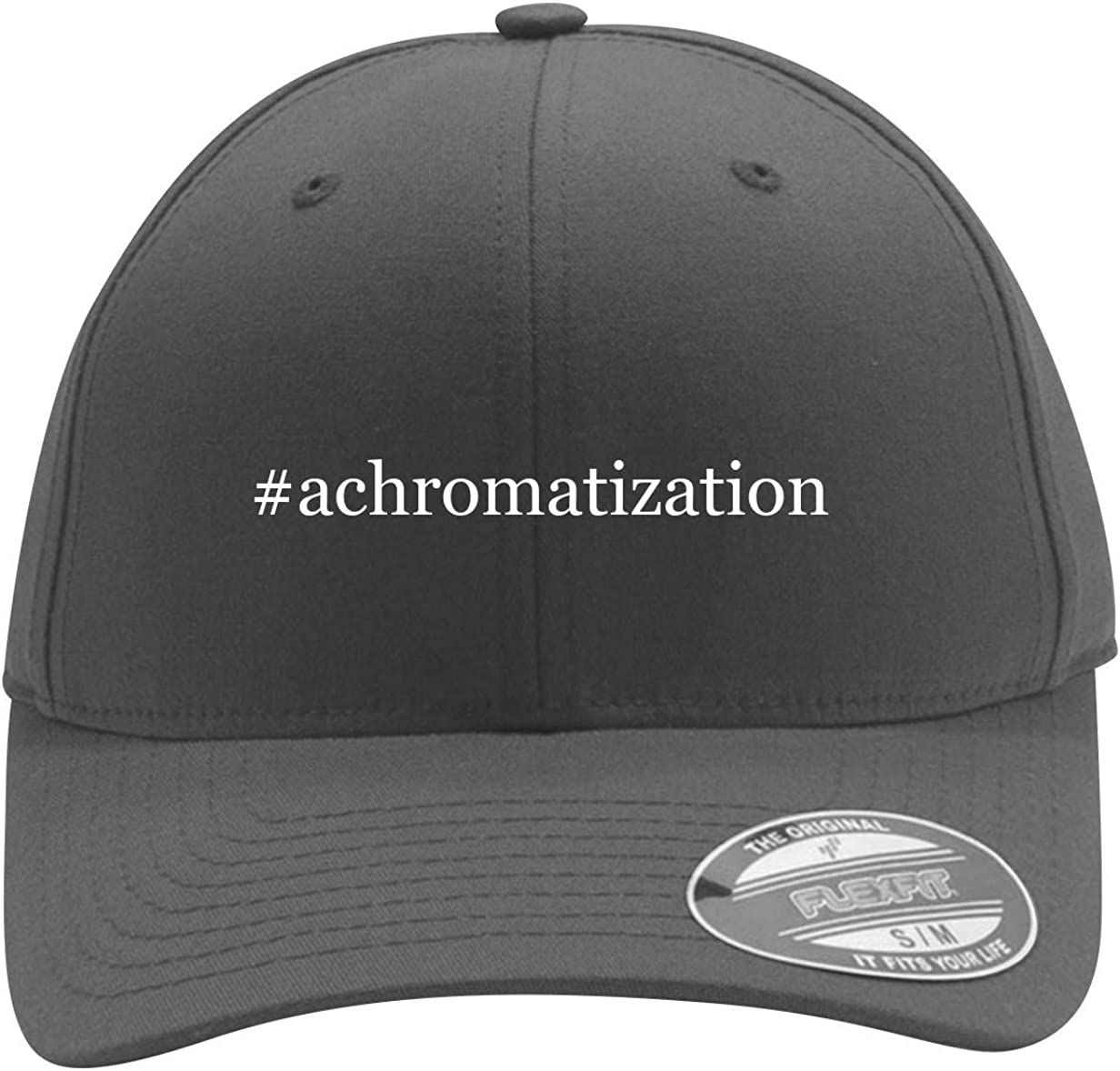 #Achromatization - Men'S Hashtag Flexfit Baseball Cap Hat
