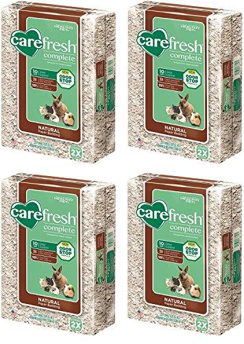 Carefresh Complete Natural Pet Bedding 60Liter (4 Bags)