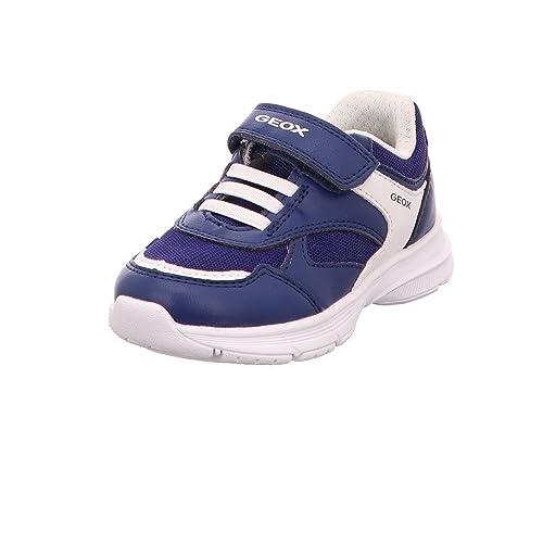 Geox J745GC A5414 C4002 - Mocasines de Material Sintético Para Niño, Color Azul, Talla 30 EU: Amazon.es: Zapatos y complementos