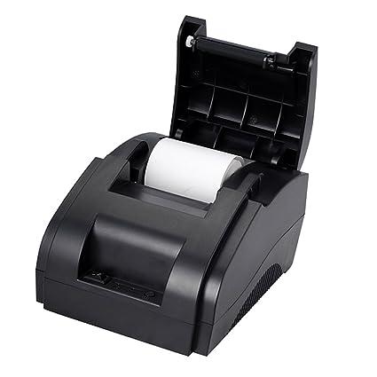 F Fityle Impresora Bluetooth 58IIH Térmica Portatil Dispositivos ...