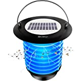 Redeo Solar Bug Zapper Fly Trap and Garden Lamp Night Light, Indoor/Outdoor Use