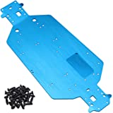 Hobbypark Metal Aluminum Chassis Plate 04001 for Redcat Volcano EPX Exceed Infinitive Sun Fire Upgrade Parts RC Electric…