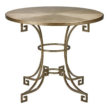 Ethan Allen Delos Island Side Table, Golden