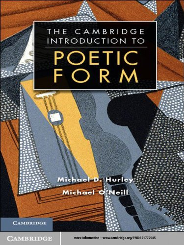 The Cambridge Introduction to Poetic Form (Cambridge Introductions to Literature) (Turco Forms)
