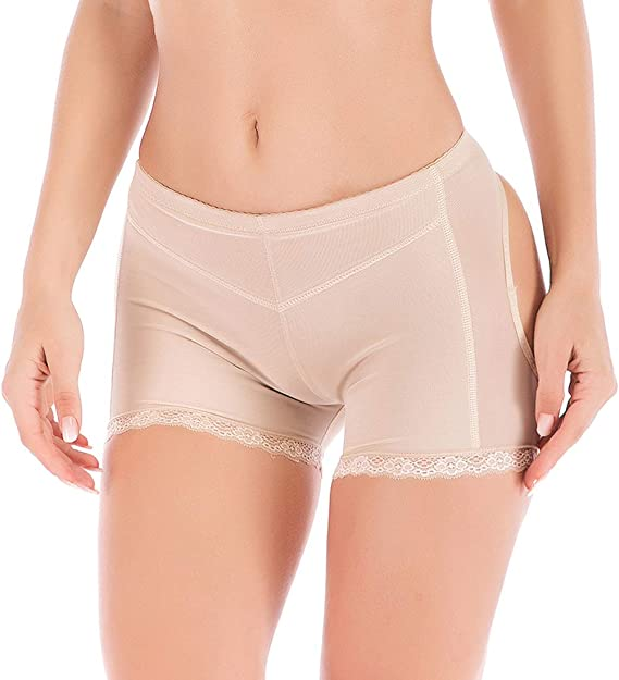 Hip Enhancer Women Body Shaper Briefs Butt Lifter Panty Booty Push Up Booster