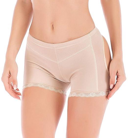 DODOING Damen Frauen Kolben-Heber Butt Lifter H/öschen Boy Shorts Shapewear Enhancer Shaper Panty Miederpants Unterw/äsche