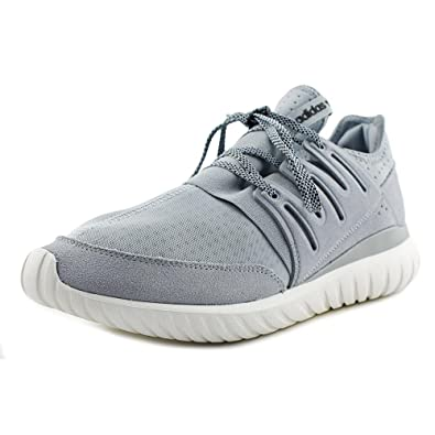 new style 81313 55fc4 Amazon.com   adidas Men s Tubular Radial Light Grey Black-Vintage White  S80112 Shoe 13 M US Men   Running