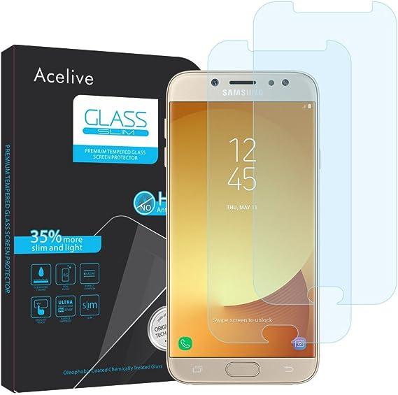 Samsung Galaxy J7 2017 Panzerglas Acelive 2 Stücke Elektronik