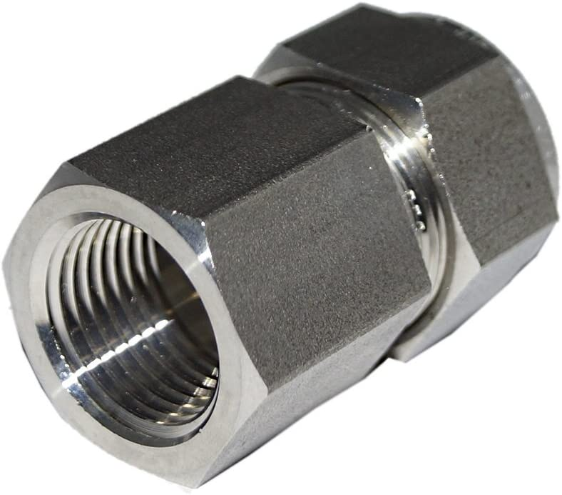 SS-500-7-4-RFS Stainless Steel Compression Female Connector 5//16 Tube OD x 1//4 NPT